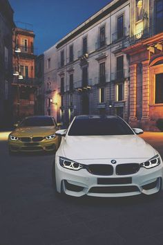 "supercars-photography: ""BMW combo "" - New Sites Bmw M4, Bmw F10 M5, Bmw Autos, My Dream Car, Dream Cars, Alpha Romeo, Bmw M Series, Bmw M Power, Lotus Esprit"
