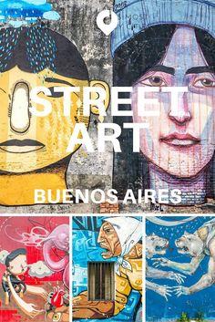 Buenos Aires hat eine sehr lebendige Street Art Szene, an vielen Ecken der Stadt finden sich die unterschiedlichsten Wand-Bemalungen. Von einfachen Tags bis hin zu hochwertiger Street Art von bekannten nationalen und internationalen Künstlern. Eine Street Art Tour in Buenos Aires darf auf der Reise durch Argentinien nicht fehlen!