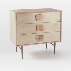 Roar + Rabbit Jeweled 3-Drawer Dresser | west elm