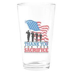 Pint Drinking Glass Us Military Army Navy Air Force Marine Corps  » Price: $24.97