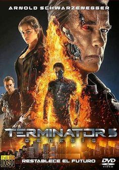 """Ver película Terminator 5 Genesis online latino 2015 gratis VK completa HD sin cortes descargar audio español latino online. Género: Ciencia Ficción, Acción Sinopsis: """"Terminator 5 Genesis online latino 2015"""". """"Terminator Genisys"""". Año 2032. La guerra del futuro se está librando"""