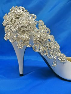 Chaussure mariée Clips-strass chaussure PCII-Bridal par ctroum