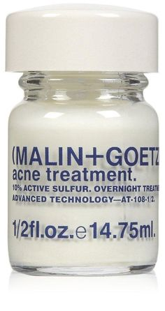 I also wish I had this Malin + Goetz acne treatment for some extra ump to fight these pimples.