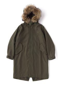 FRED PERRY JAPAN | フレッドペリー日本公式サイト Fishtail Parka, Fred Perry, Canada Goose Jackets, Raincoat, Winter Jackets, Japan, Fashion, Rain Jacket, Winter Coats