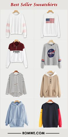 Take a look at the best winter Sweatshirts 2018 in the photos below and get ideas for your outfits! What a cozy knit sweater for the Fall & Winter seasonStreet Style Fashion Ideas Cute Sweater Outfits, Cute Casual Outfits, Cute Sweaters, Pretty Outfits, Stylish Outfits, Teen Fashion Outfits, Outfits For Teens, Girl Fashion, Style Fashion