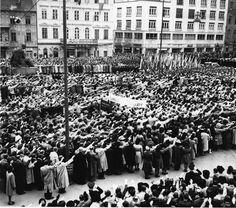 Jozef Teslík: Oslavy sviatku práce v Bratislave, 1943
