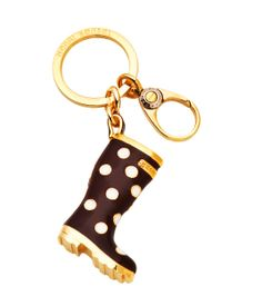 POLKA DOT BENDEL WELLIE... This has to be the cutest keyring I have ever seen. DYING. I love Henri Bendel