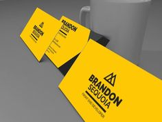 Brandon Sequoia - Business Card by Solid Pixel on @creativemarket