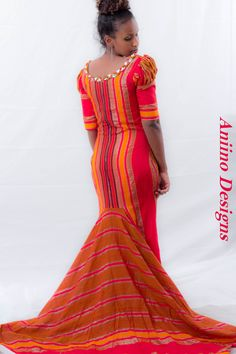 Somali Hidiya daqan dress for weddings