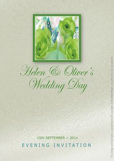 Rose Theme Wedding Invitations and Stationery from On Silver Pond