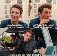 My favourite scene Allegiant #four #tris #peter