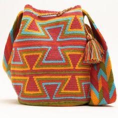 Resultado de imagen de crochet pattern wayuu bag