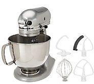 KitchenAid 5 qt. 325 Watt Tilt Head Stand Mixer w/ Flex Edge - K41660