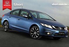 A nova cor do Honda Civic é sensacional!