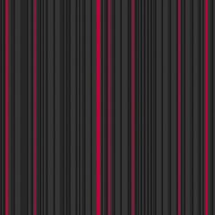 Sample Maestro Stripe Wallpaper in Black and Red by Marcel Wanders for Graham & Brown