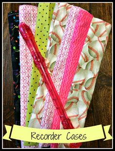 Sew Much Music: Tutorial: How to Make Cute Recorder Cases