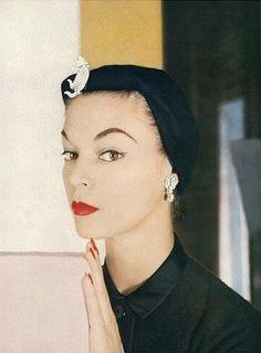 Jean Patchett, photo by Richard Rutledge, Vogue, September 15, 1953 | flickr skorver1