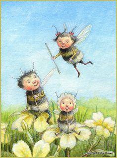 Petra Brown Gallery 1 - Petra Brown, Children's Book Illustrator