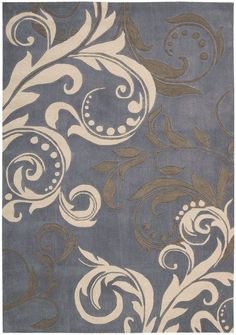 These beautiful, handcrafted rugs feature transitional and contemporary patterns in a rich color palette. Select designs have exquisite detail carved deeply into the dense, cut-and-loop pile for dramatic texture and striking contrast. This...
