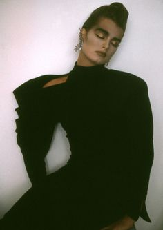 Brooke Shields by Sheila Metzner.