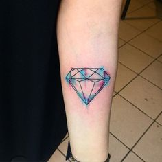 pretty nice tat of a diamond. Simple but complex at the same time.