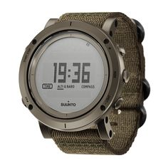 Suunto Essential in Slate. Understated and minimalistic. Perfect.