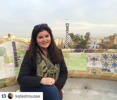 #Repost @katestrousse Oh my Gaudi! #parkguell #gaudi #Barcelona #ispyapi #studyabroad
