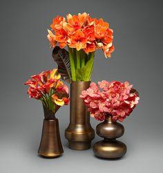 Bronze Trio   L'Olivier Floral Atelier