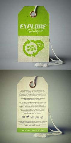 Explore Backpack handtag/label by romankac