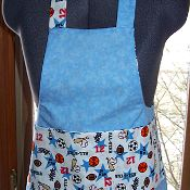 Child's Work and Play Apron