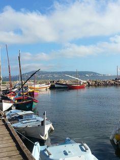 BOUZIGUES vue sur Sète et le Mont Saint-clair