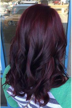 Cherry Coke curls