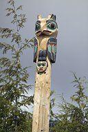 Work: Totem Pole: Owl Memorial