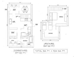 Lena's Canyon Cabin Apartment Therapy, Floor Plans, Cozy, Houses, Cabin, Cool Stuff, Ideas, Homes, Cottage