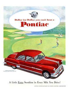 1951 Pontiac Chieftain Deluxe 4-door sedan