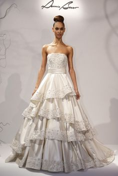 Dennis Basso for Kleinfeld Bridal Spring 2013 - Slideshow - Runway, Fashion Week, Reviews and Slideshows - WWD.com