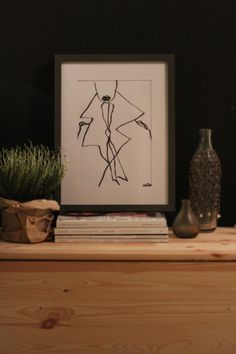 TRENCH  Illustration by Andrea Alfredo Bricchetto. For you available on www.alfredssonhelsinki.tictail.com
