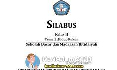 Gratis Download Silabus Kurikulum 2013 SD Kelas 1 2 3 4 5 Dan 6 - Silabus Kurikulum 2013 SD Administrasi K13