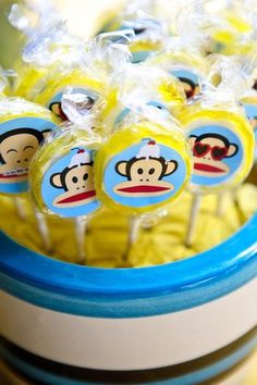 Hostess with the Mostess® - Paul Frank Themed 1st Birthday