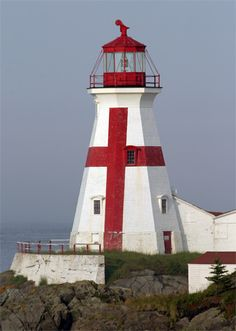Head Harbour (East Quoddy), New Brunswick, Quebec, Canada Head Harbour, is the site of one of the oldest light stations in Canada. Established and built in New Brunswick Canada, Lighthouse Lighting, Lighthouse Pictures, Old Lights, Beacon Of Light, Castle, Around The Worlds, Building, Modern