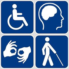 Handicap discrimination is a serious problem in our society. discrimination against the handicapped can occur in place of work, school, when renting or buying properties, when providing goods, public facilities and when services are needed Long Term Disability Insurance, Special Education Law, Higher Education, 504 Plan, Multiple Disabilities, Learning Disabilities, Developmental Disabilities, Disability Awareness, Disability Art