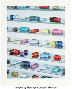 Post-War & Contemporary:Contemporary, Damien Hirst (British, b. 1965). Pharmaceuticals, 2005.Inkjet print in colors. 41-1/2 x 33 inches (105.4 x 83.8 cm). Ed...