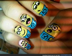 Funny Nail Art Designs You Never Seen Before (34 Photos)
