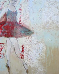 Monica Adams, just lovely! Ballet Painting, Dance Paintings, Painting & Drawing, Red And Blue Dress, Beautiful Paintings, Dancers, Art Photography, Drawings, Fine Art Photography