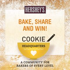 What's better than holiday baking? Turning your treats for others into a chance to win a holiday present for you! Visit HERSHEY'S Cookie Headquarters to see how you could pin to win a baking product giveaway.