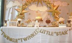 Twinkle Twinkle Little Star Banner Baby Shower Birthday Baby Shower Themes, Baby Boy Shower, Baby Shower Decorations, Shower Ideas, Star Decorations, First Birthday Cookies, Babyshower, Star Banner, Star Party