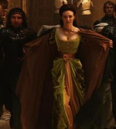 From Jack the Giant Slayer, due out March 2013. I had pinned this costume previously, but this is a crop of a better-quality still, so more detail can be seen.