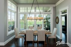 Beau Create A Delightful Dining Room View With Encompass By Pella® Single Hung  Windows And