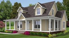 Light blue siding repainted shutters to black would like for Large cape cod house plans