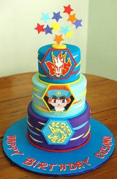 Bey Blade / Japanimation cake
